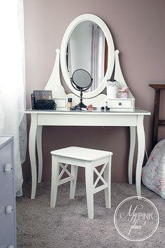 Moja Romantyczna Toaletka Duuuu O Zdj Hemnes Ikea