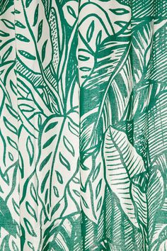 Saskia Pomeroy Plants Shower Curtain $49 UrbanOutfitters.com: Awesome stuff for you & your space