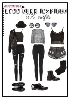 Lynn Gunn by kellbell0412 on Polyvore featuring polyvore, fashion, style, River Island, Topshop and Forever 21