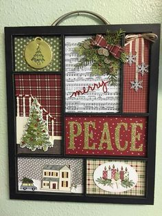 DIY Christmas Gifts for Dads on a Budget – Shadow Boxes – Thanksgiving Decorations – Grandcrafter – DIY Christmas Ideas ♥ Homes Decoration Ideas Diy Christmas Gifts For Dad, Christmas Paper Crafts, Diy Christmas Tree, Christmas Projects, Holiday Crafts, Christmas Holidays, Christmas Cards, Diy Christmas Frames, Thanksgiving Decorations