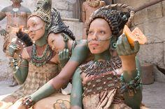 "Mayan noblewomen in ""Apocalypto""."