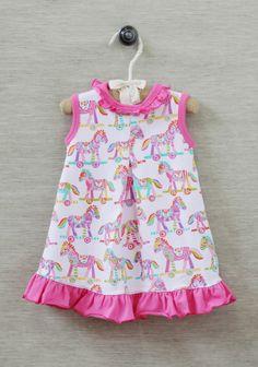Pony Playdate Onesie Dress
