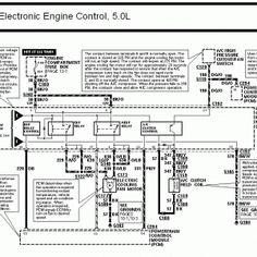 9498 Mustang Air Conditioning Vacuum Controls