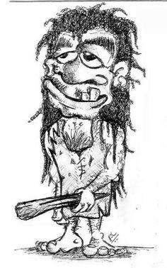 Original art Uga Uga