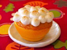 Sweet Potato in Orange Cups