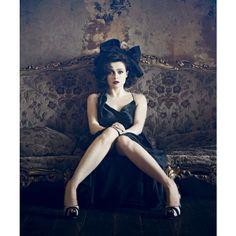 Helena Bonham Carter | Absolutely Fabulous 2.0 found on Polyvore