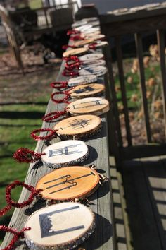 Make your own wood ornaments