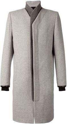 Tim Coppens kimono coat - StyleSocietyGuy.com