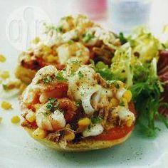 Minipizza's met vis @ allrecipes.nl
