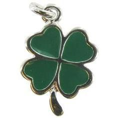 Patrick S Day Or Just The Luck Of Irish In Style With These Fun Green Four Leaf Clover Charm Earrings Adorable Feature A Silver