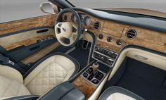 The Bentley Mulsane interior