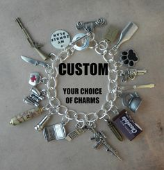 CUSTOM  YOUR ZOMBIE Plan Charm Bracelet For The Zombie by PlayBox, £25.00