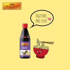 Hoisin Sauce + Pho = perfect match!