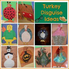 Turkey In Disguise A Take Home Family Project For Little