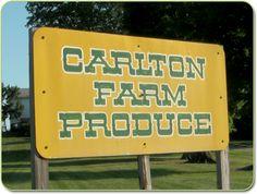 carlton signs | Carlton Farm Produce