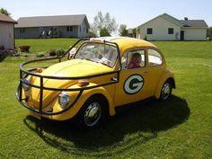 Green Bay Packer Love Bug