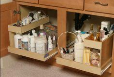 Under Kitchen Sink Organizer | Kitchen Cabinets - Under Sink pull out storage | Bathroom Everything