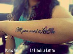 La libélula Tattoo