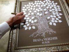 Magnifique arbre à empreintes