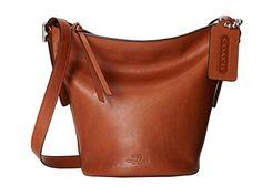 Coach Bleecker Mini Duffle Glove Tanned Leather Bag 32281 British Tan