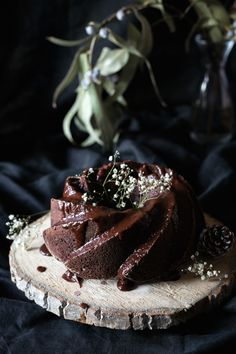 La Cocina de Carolina: Tarta de chocolate y especias con glaseado de membrillo