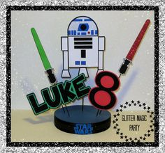 Star Wars Inspired R2D2 Star Wars Centerpiece by GlitterMagic23s