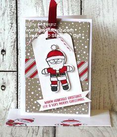 Cute Christmas Cookies - LibbyStampzLibbyStampz