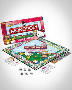 'Hello Kitty' Monopoly Game, $39.99