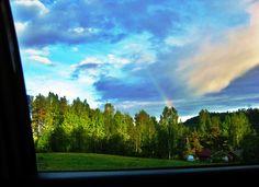 Finnish summer driving