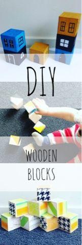 hope fully project: How To Make Wooden Toy Blocks. Click through for tutorial