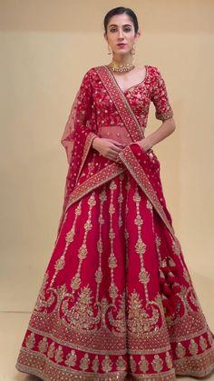 Lehenga Wedding Bridal, Bridal Lenghas, Sabyasachi Lehenga Bridal, Indian Wedding Lehenga, Bridal Dupatta, Banarasi Lehenga, Designer Bridal Lehenga, Pakistani Bridal Wear, Saree