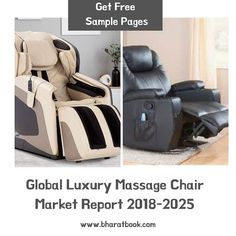 The Luxury Massage Chair Market is continuously growing in the global scenario at significant pace. Luxury Massage Chair are designed to provide massages at homes, offices, and hotels at the suitability of the user. Consulting Firms, Market Research, Massage Chair, Life Science, Offices, Hotels, Marketing, Luxury, Design
