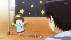 Here a cute anime baby is singing twinkle, twinkle lil star. She looks . Anime Chibi, Twinkle Twinkle, Sailor Moon, Otaku, Kindergarten, Singing, Kawaii, Manga, Cute