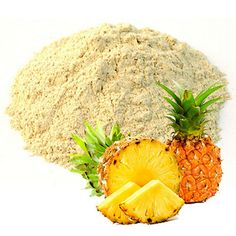 pineapple powder  #pineapple #pineapplepowder Fruit List, Fruits And Vegetables, Superfoods, Spinach, Cool Things To Buy, Pineapple, Mango, Powder, Banana