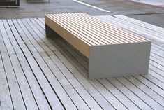 mmcité - výrobky - parkové lavičky - blocq