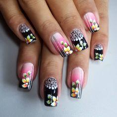 #bytancinhacastro #nailsart #unhasdecoradas #unhastop #unhasdasemana #unhaslegal #nailart #unhasperfeitas #unhaslindas #nailart #nailsmagazine #nailisp #nails2inspire #nails Bling Acrylic Nails, Glam Nails, Diy Nails, Cute Nails, Mobile Nails, Crazy Nails, Stylish Nails, Flower Nails, Nail Polish Colors