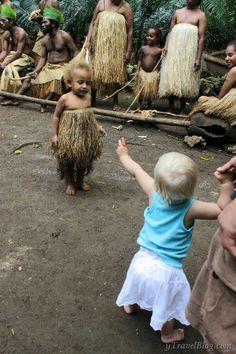 Larofa cultural village, Vanuatu