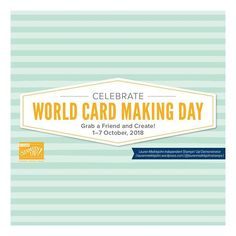It's World Card Making Day! Check out the sale that Stampin' Up! is having to celebrate. Get off all-inclusive card kits the Calligraphy Essentials Card Kit and the coordinating stamp plus other select stamps sets and select adhesives. All Inclusive, Brush Lettering, Card Kit, Cardmaking, Stampin Up, Stamps, Essentials, Calligraphy, World