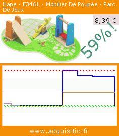 Hape - E3461 - Mobilier De Poupée - Parc De Jeux (Jouet). Réduction de 59%! Prix actuel 8,39 €, l'ancien prix était de 20,61 €. https://www.adquisitio.fr/hape-international/e3461-mobilier-poup%C3%A9e