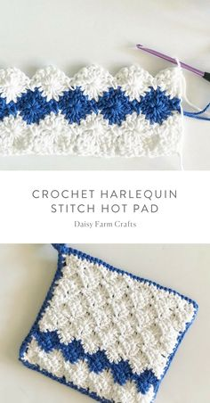 Free Pattern – Crochet Harlequin Stitch Hot Pad Free Pattern – Crochet Harlequin Stitch Hot Pad Related posts:Sidewalk Shawl Free Crochet Pattern -Kaffee-Smoothie: Wachmacher mit viel Undisputable Top Secrets to a Healthy Weight Ideas Crochet Potholder Patterns, Crochet Owls, Crochet Edgings, Crochet Animals, Crochet Hot Pads, Stitch Crochet, Farm Crafts, Crochet For Beginners Blanket, Diy Blog