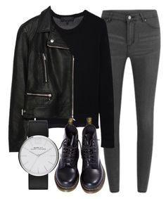 """""""Untitled #4750"""" by laurenmboot ❤ liked on Polyvore featuring Cheap Monday, rag & bone, Dr. Martens, Zara, Marc by Marc Jacobs, women's clothing, women, female, woman and misses"""
