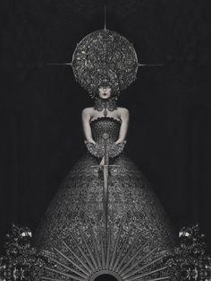 Garjan Atwood • Dark Beauty Magazine