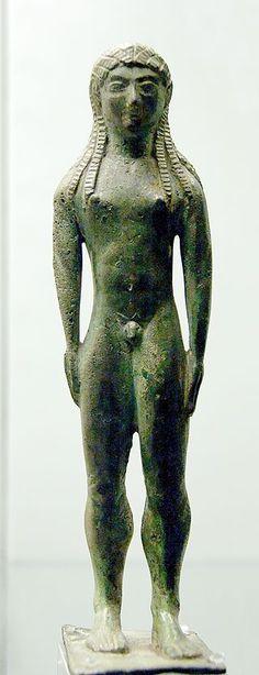 Votive statuette BM 510 - Arte etrusco