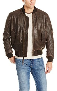 Alpha Industries Men's Leather Flight Bomber Jacket, Brown, X-Small Brown Leather Bomber Jacket, Suede Jacket, Vest Jacket, Leather Jackets, Leather Coats, Alpha Industries Ma 1, Flight Bomber Jacket, Bomber Jackets, Revival Clothing