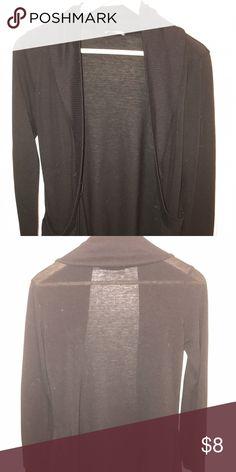 Sheer black cardigan Sheer black cardigan. Sweaters Cardigans