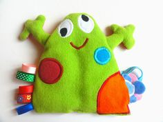Little frog - interactive soft toy