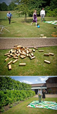 jenga, snakes and ladders and giant pick up sticks ...and for my future self