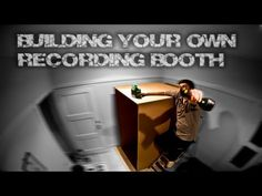 Build a DIY Recording Booth for your Home Studio - YouTube