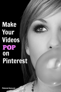 How to make your videos POP on Pinterest - because just adding a video doesn't work! Become a master at using Pinterest to drive more traffic, leads and sales to any business that you want to! www.pincrediblemarketing.com