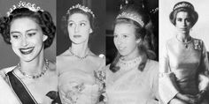 It was quickly lent out to other royal ladies; most noticeably Princess Margaret wore it several times as an early tiara, as did Princess Anne in the early 1970s.